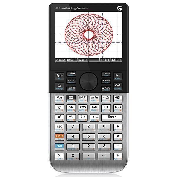 Calculadora Gráfica HP Prime G8X92 com Tela Touch - Preto/Prata