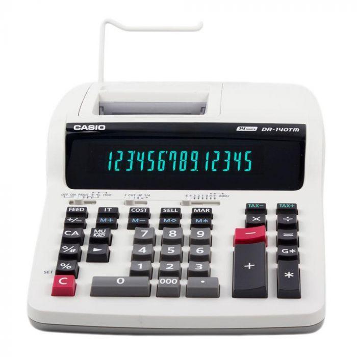 Calculadora Com Bobina Casio DR-140TM - 220v