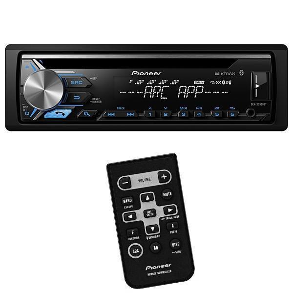 Reprodutor de CD Automotivo Pioneer DEH-X10 com USB/Auxiliar - Preto