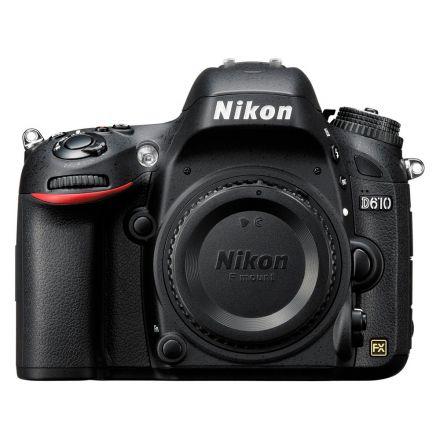 Câmera Nikon D610 Corpo - Preto