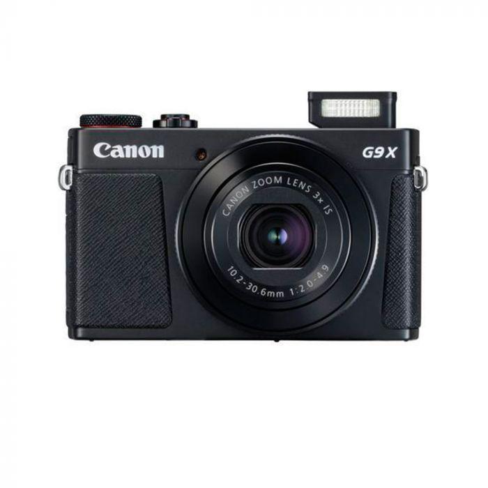 """Câmera Canon PowerShot G9 X Mark II 20.1MP de 3.0"""" com Wi-Fi/Bluetooth/NFC - Preto"""
