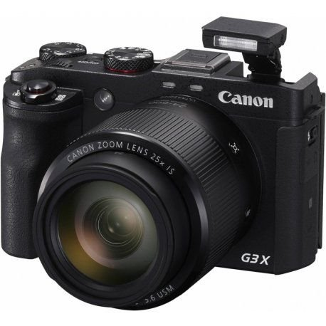 Câmera Canon PowerShort G3X Full HD 20.2MP/25X/Wi-Fi/NFC