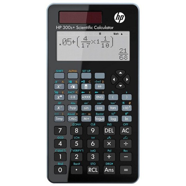 Calculadora Científica HP 300S+ com 315 Funções - Preta