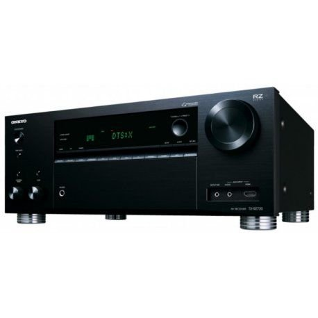 Receiver Onkyo RZ Series TX-RZ720 7.2 4K Bluetooth WiFi 110V Preto
