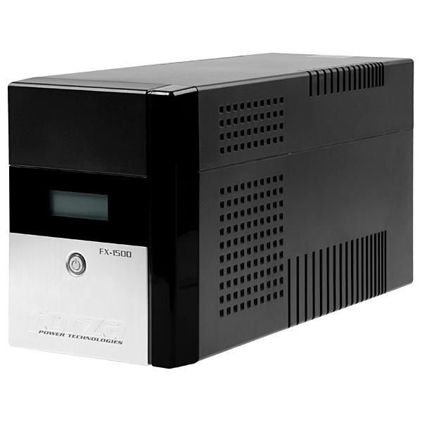 Nobreak Forza FX-1500LCD 1500VA de 840W com Tela LCD/Proteção Nível 5 110V - Preto
