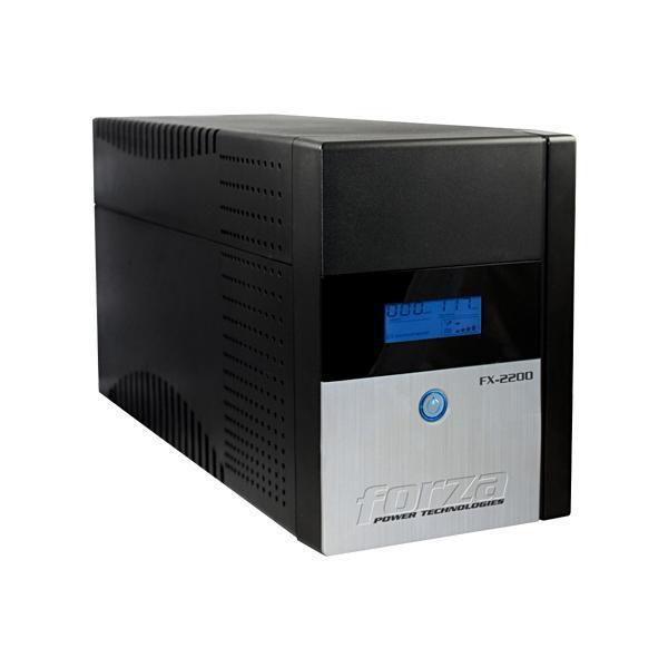 Nobreak Forza FX-2200LCD 2200VA de 1200W com Tela LCD/Proteção Nível 5 110V - Preto