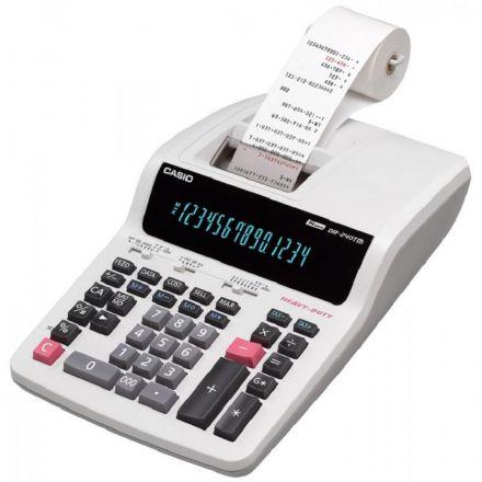 Calculadora Com Bobina Casio DR-240TM 14 Dígitos 4.4 LINHAS/SEG. ELÉTRICO 110V - Branco