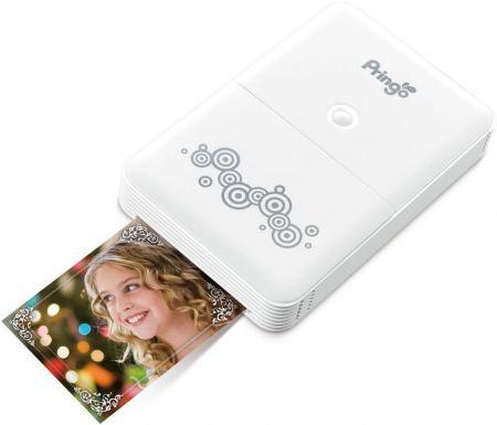 Impressora Fotográfica Portátil Pringo P-231 - Fotos Instantâneas - Wifi - Branco