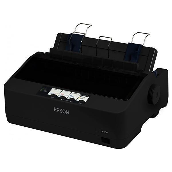 Impressora Epson LX-350 9 Pinos 4 Cópias + 1 Original - Preta