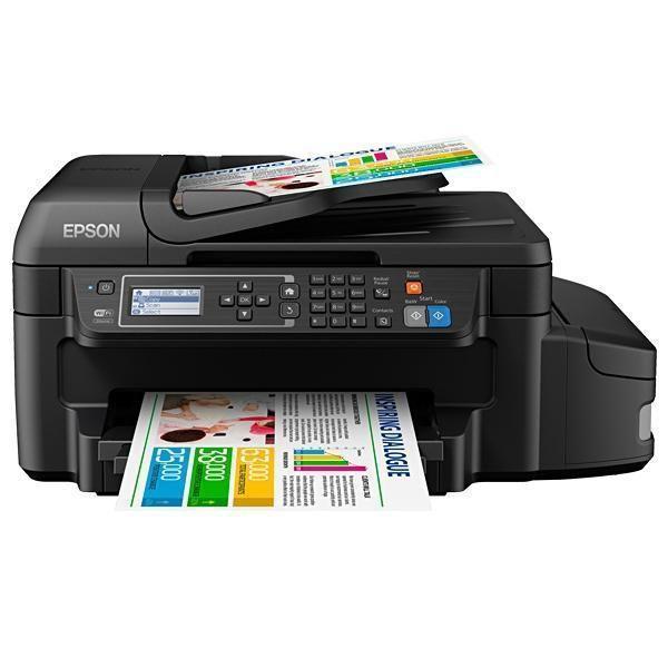 Impressora Epson EcoTank L655 Multifuncional 4 em 1/Wi-Fi Bivolt - Preto