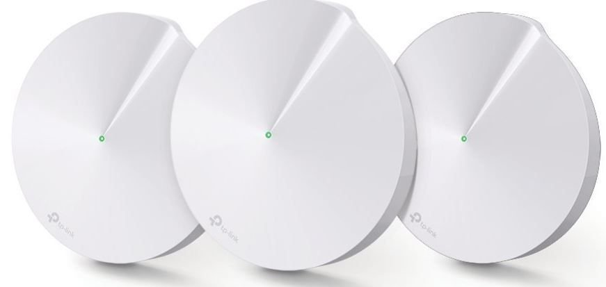 W. TP LINK DECO M5 WHOLE-HOME WI-FI AC1300 DUAL BAND 3PACK**