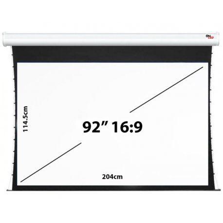 """Tela de Projeção Onled Elétrica Tensionada de 92"""" - 16:9 (220V-50Hz)"""