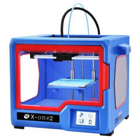 Impressora 3D Qidi Tech X-One2 220v Azul/Vermelho