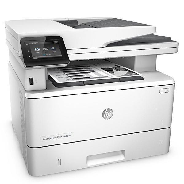 Impressora Multifuncional HP Pro MFP M426dw Laserjet 3 em 1 com Wi-Fi 110V - Branca