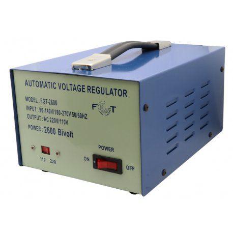 Estabilizador de Voltagem FGT FGT2600 110-220Volts