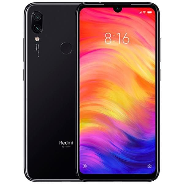 "Smartphone Xiaomi Redmi 7 Dual SIM 64GB de 6.26"" 12+2MP/8MP OS 9.0 - Preto Global"