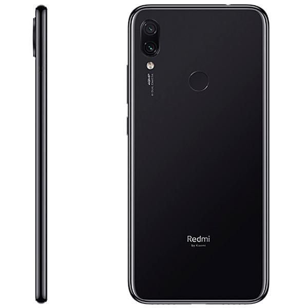 "Xiaomi Redmi Note 7 Dual SIM 64GB de 6.3"" 48+5MP/13MP OS 9.0 - Preto"