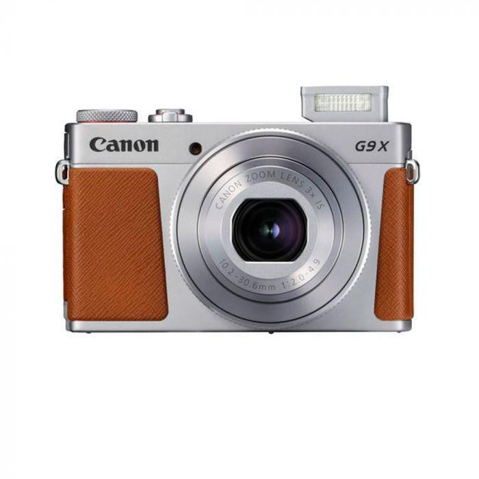 """Câmera Canon PowerShot G9 X Mark II 20.1MP de 3.0"""" com Wi-Fi/Bluetooth/NFC - Prata"""