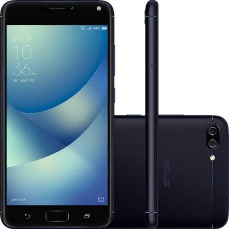SMARTPHONE ASUS ZENFONE 4 MAX ZC520KL DUAL 16GB - PRETO