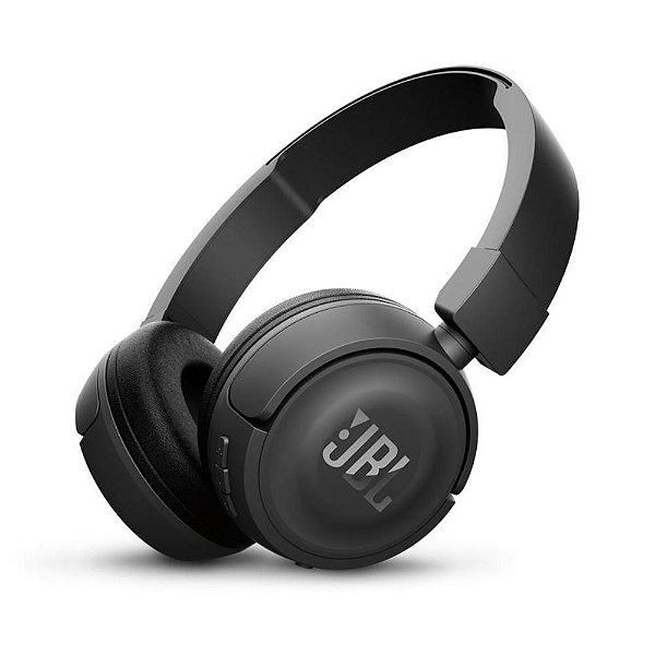 Fone de Ouvido JBL T450BT com Conexão Bluetooth - Preto