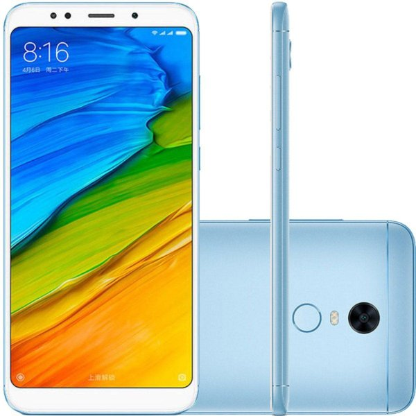 Smartphone Xiaomi Redmi 5 Plus dual 64GB - Azul