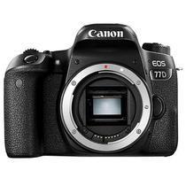 "Câmera Digital Canon EOS 77D 24.2MP 3.0"" (SOMENTE CORPO)"