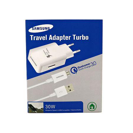 Carregador Samsung Turbo Travel Adapter