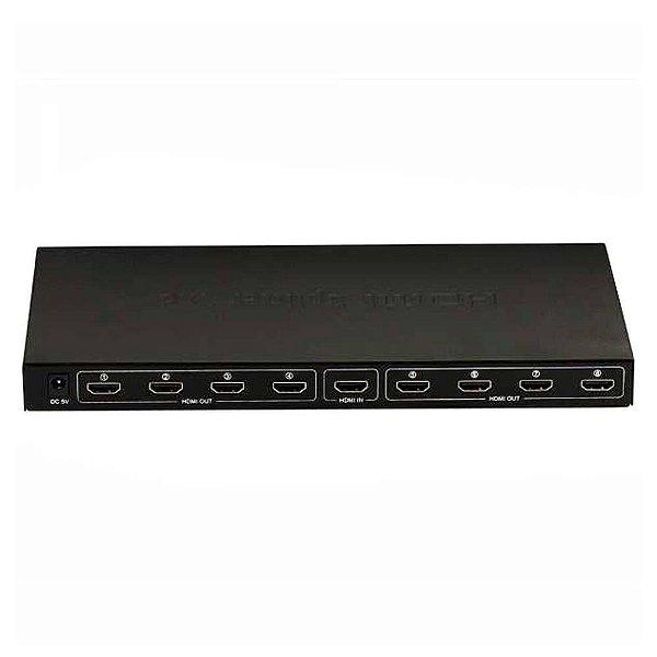 Hub HDMI Splitter 8P 1080P 1X8 3D