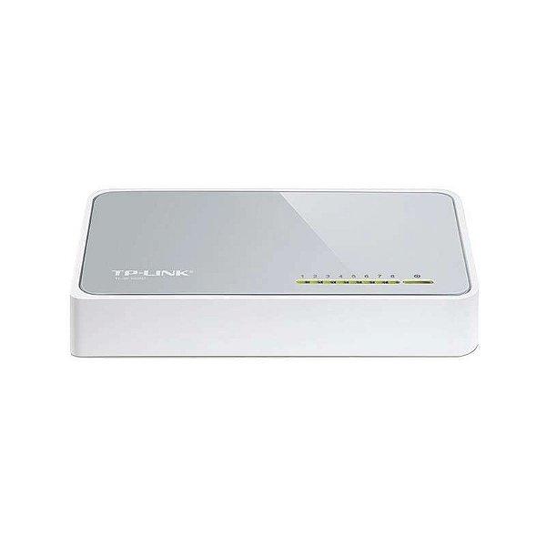 Hub TP-Link SF-1005D - 10100MB - 5 Portas - Cinza