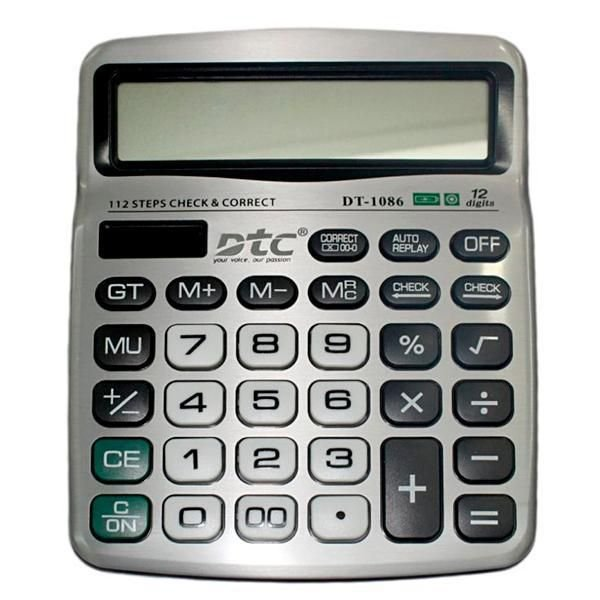 Calculadora DTC DT-1086