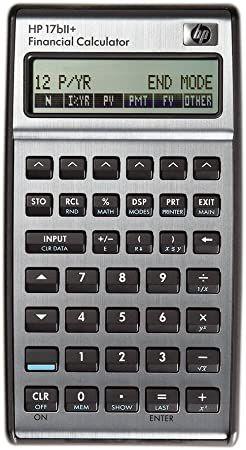 Calculadora Financeira HP 17bII+