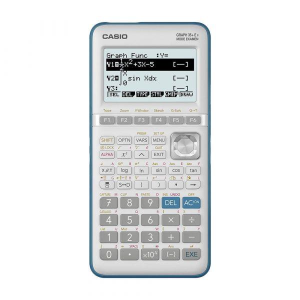 Calculadora Grafica Casio 35 + e II - Prata
