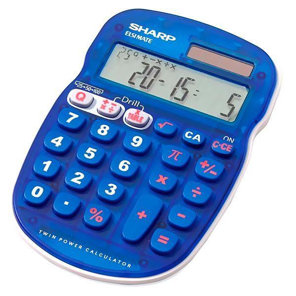 Calculadora Sharp EL-S25B-BL
