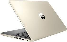 "Notebook HP 14-DQ0011DX Intel Core i3 2.4GHz / Memória 4GB / SSD 128GB / 14"" / Windows 10"