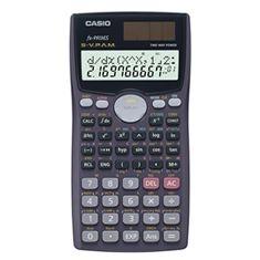 Calculadora Científica Casio FX-991MS de 401 Funções - Azul/Preta