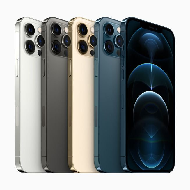 Celular Apple iPhone 12 Pro Max 512GB (Várias Cores)