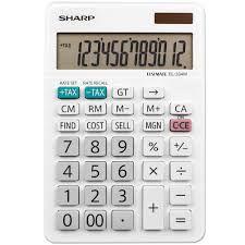 Calculadora Sharp EL-334WB 12 Digitos Tela LCD GD Sol