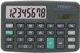 Calculadora Truly 711-8 Digitos