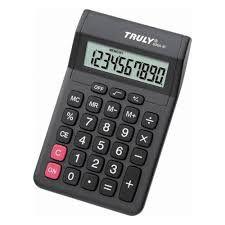 Calculadora Truly 806-10 - 10 Digitos - Preto