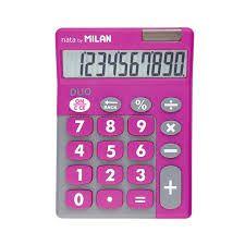 DUPLICADO - Calculadora Milan Duo Nata BY 10 Digitos 150610TDBBL - Azul