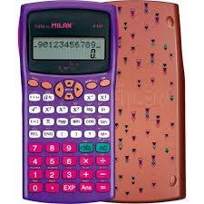 Calculadora Cientifica Milan Copper Edition M240 159110CPBL - Roxo/Cobre