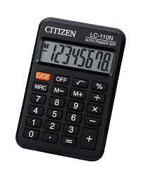 Calculadora Citizen LC-110N