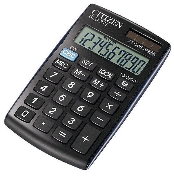 Calculadora Citizen SLD-377