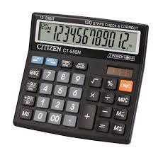 Calculadora Citizen CT-555N