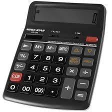 Calculadora Megastar DS-276 16 Digitos - Cinza