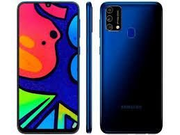 "Celular Samsung M21S FF415F 64GB/4GB/Dual Sim/4G/6.4""/64MP+8MP+5MP e 32MP - Azul"
