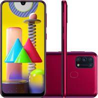 """Celular Samsung M31 M315F 64GB/6GB/Dual Sim/6.4""""/64+8+5+5MP e 32MP Varias Cores"""
