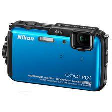 "Câmera Digital Nikon Coolpix AW110 16.0MP 3.0"""