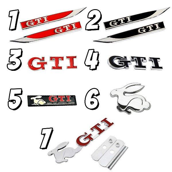 Emblemas GTI