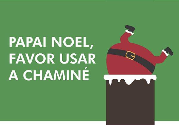 Tapete Chaminé